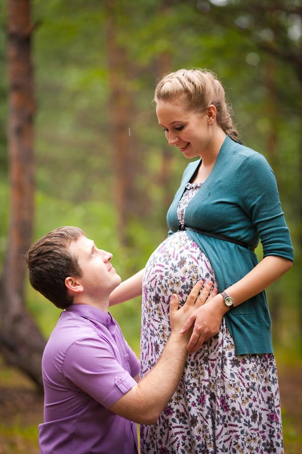 Фото беременной пары дома 97